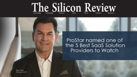 ProStar Named One of the 5 Best SaaS Solution Providers to Watch 2021